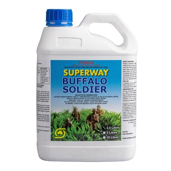 BUFFALO SOLDIER 2.5L